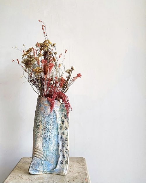 Vases & Vessels by Kara Sabi seen at Private Residence, Delhi - Summer Glory Vase