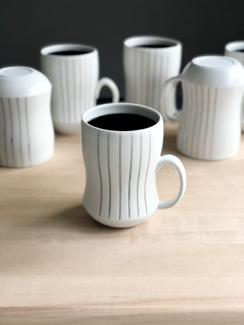 Cups by Stephanie McGeorge seen at Creator's Studio - Cup/Mug