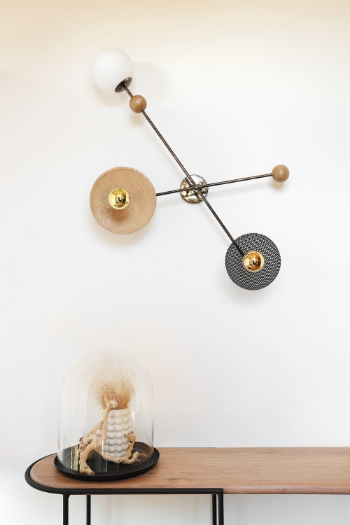 Sconces by STUDIO 19 seen at Private Residence, Johannesburg - Scarab Wall lamp
