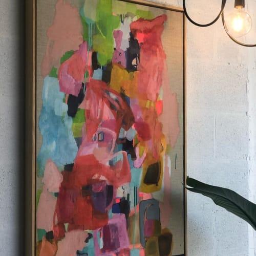 Paintings by Art Moona seen at S3 Studio Hawksburn, South Yarra - Puzzled