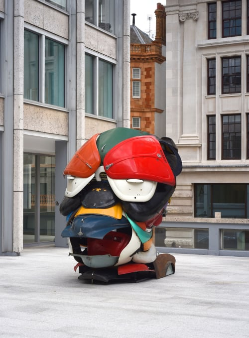 Public Sculptures by Zak Ove at London, London - Autonomous Morris