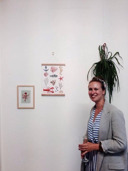 Art Curation by Valesca van Waveren seen at Atelier Oosterbosch, Amsterdam - Waterworld Exhibition