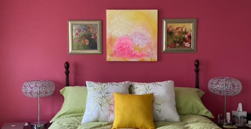 Julea Boswell Art Studio - Art and Linens & Bedding