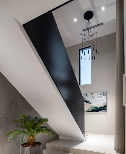 Interior Design by Morosini and Evi Style Brands of LUCI ITALIANE srl seen at Private Residence, Perth - Dianella display