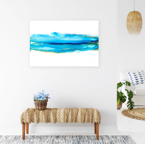 Paintings by Emily M Randolph Fine Art seen at Private Residence, Scottsdale, Scottsdale - Go with the Flow