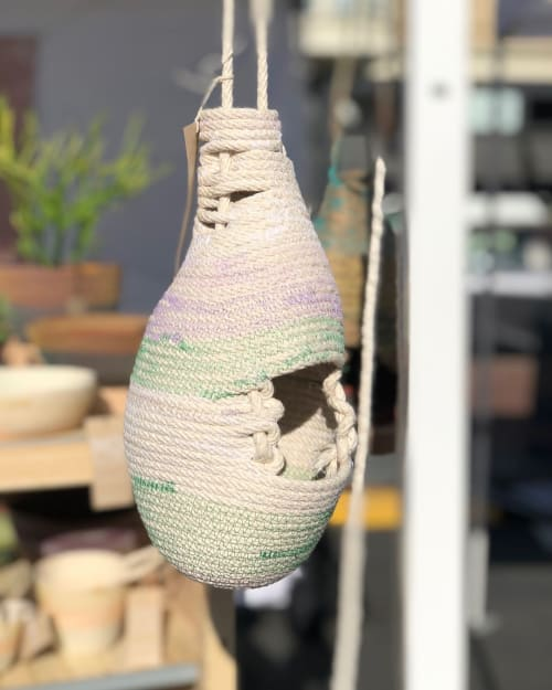 Vases & Vessels by MOkun seen at HEAD WEST Marketplace, Alameda - Rope Basket