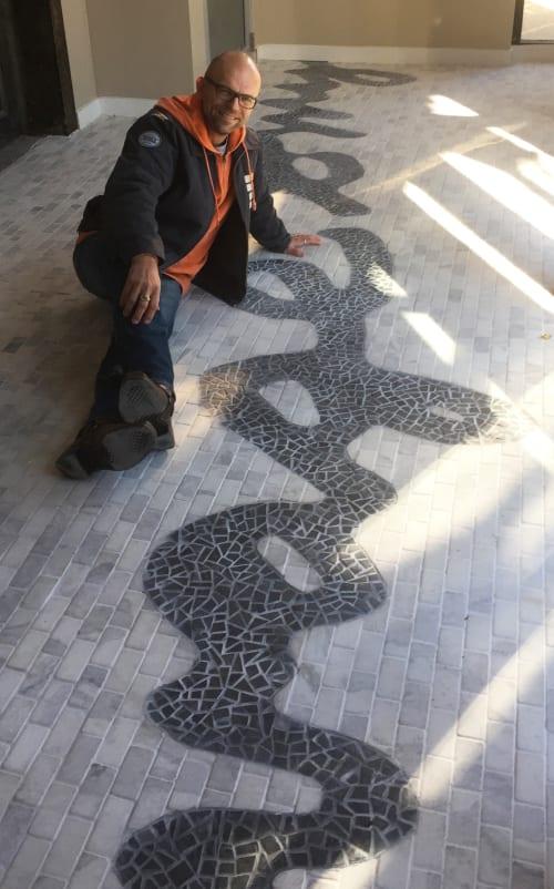 Public Mosaics by bachor seen at Savage Smyth, North Franklin Street, Chicago, IL, Chicago - Savage Smyth Signature Entranceway