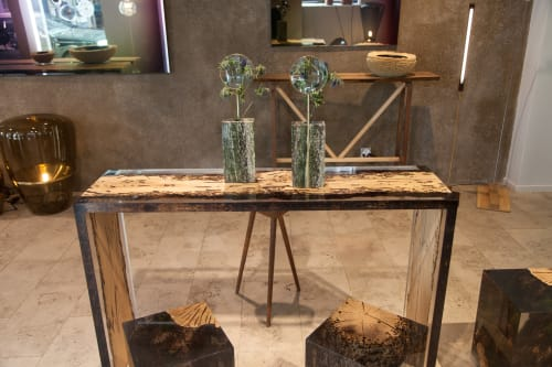 Furniture by alcarol seen at Bensimon Gallery, Paris - Bent Console