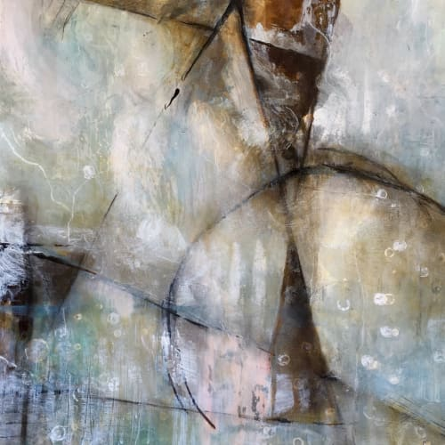 No Boundaries  and  Forward Thinking   Paintings by Debbie Ezell