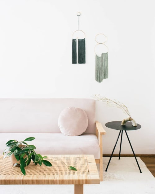 Wall Hangings by Cindy Hsu Zell seen at Private Residence, Los Angeles - Green Wall Hangings