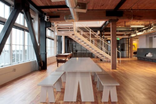 Tables by Chadhaus seen at Artefact, Seattle - Custom Table