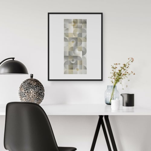 Art & Wall Decor by Michael Grace & Co seen at Private Residence, Seattle - The Monolith Art Print