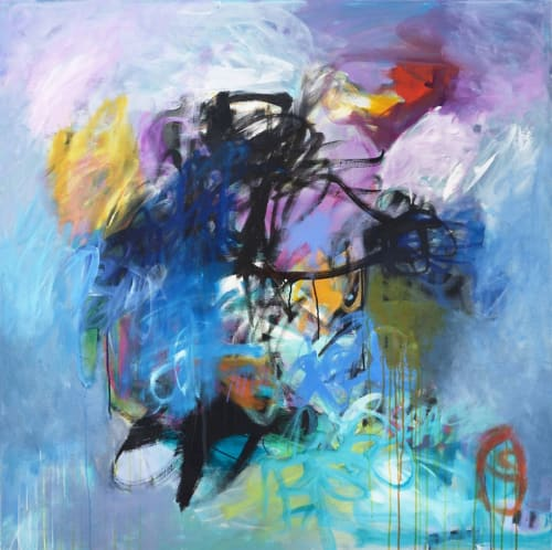 Paintings by Abby Creek Studios - Paintings by Linda O'Neill seen at Boulder, Boulder - Everything You Can Imagine - Acrylic Painting On Canvas