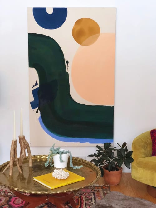 Paintings by Christine Cover seen at Private Residence, St. Louis - No Pressure