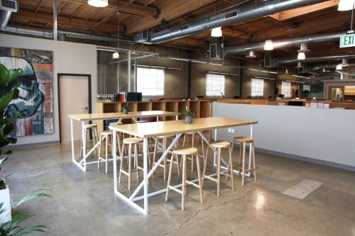 Tables by Matthew Deters at LUA + SOL, Culver City - Matthew Deter Fabrik Tables