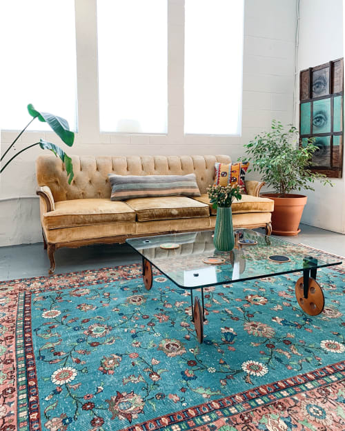 Rugs by Wild Shaman Kilims + Rugs seen at Wild Shaman, Portland - Vintage Turkish Isparta Rug