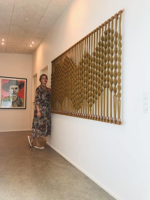VAD fiberart - Macrame Wall Hanging and Art