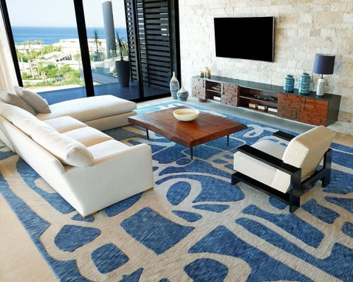 Rugs by Odabashian (official) seen at Cabo San Lucas, Cabo San Lucas - Chileno Bay Resort