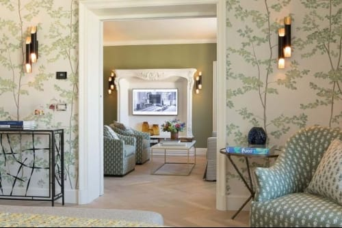 Sconces by Brass Brothers & Co. at Hotel Savoy, Firenze - Urban 3 Sconce