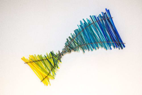 Sculptures by Carlyn Ray Designs seen at Flare Resources Inc, Dallas - Flare Resources Weaving