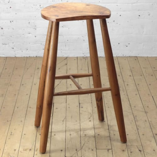 SideCar Bar Stool   Chairs by From the Source