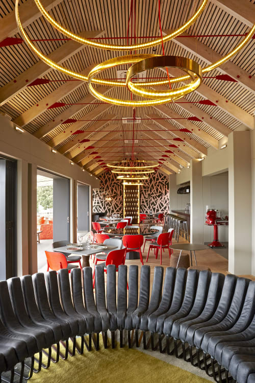 Couches & Sofas by HALDANE MARTIN DESIGN seen at Kunjani Wines, Stellenbosch - Songololo Sofa in Kunjani Wines