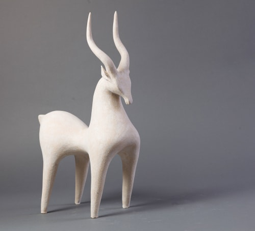 Sculptures by Athena Jahantigh seen at g GIFT AND LIFESTYLE, Minato City - Horse and Gazelle