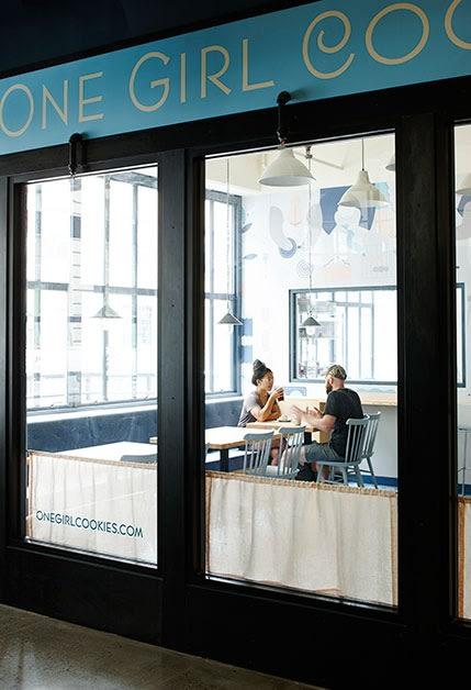 One Girl Cookies (Industry City), Bakeries, Interior Design