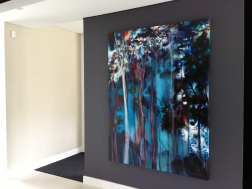 Paintings by Guy Hawson seen at Private Residence, Sydney - Ghost Gum