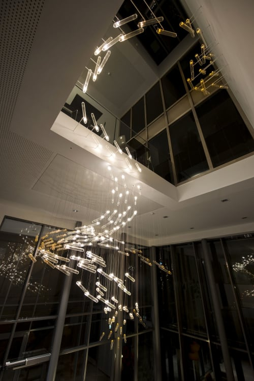 Lighting Design by DRIFT seen at High Tech Campus Eindhoven, Eindhoven - Flylight