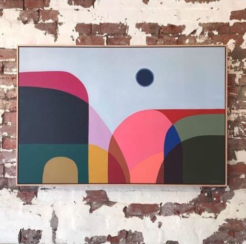 Paintings by Greta Laundy seen at Private Residence, Melbourne - Australian Summer