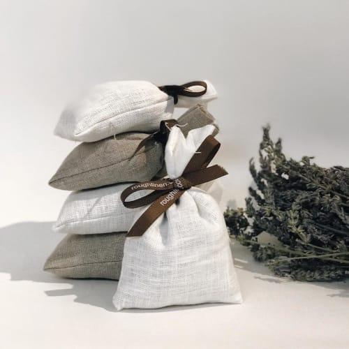 Apparel & Accessories by Rough Linen seen at Rough Linen, San Rafael - Lavender Bag
