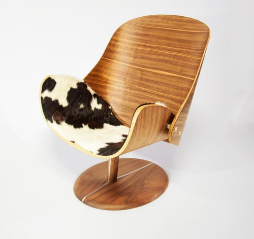 Chairs by q|co design seen at Private Residence, Golden - You Lounge chair