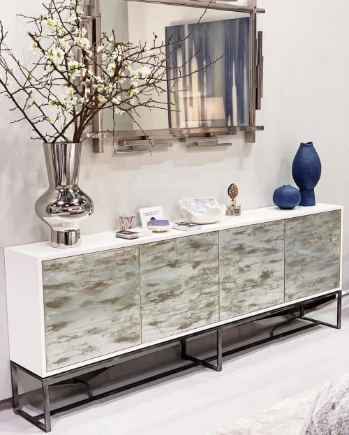Furniture by Ercole seen at Jacob K. Javits Convention Center, NYC, New York - Galaxy Buffet