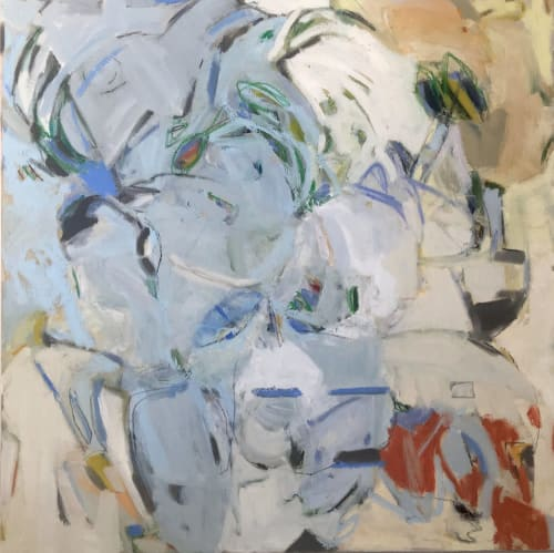 Paintings by Karen Blair seen at Private Residence, Winston-Salem - Song