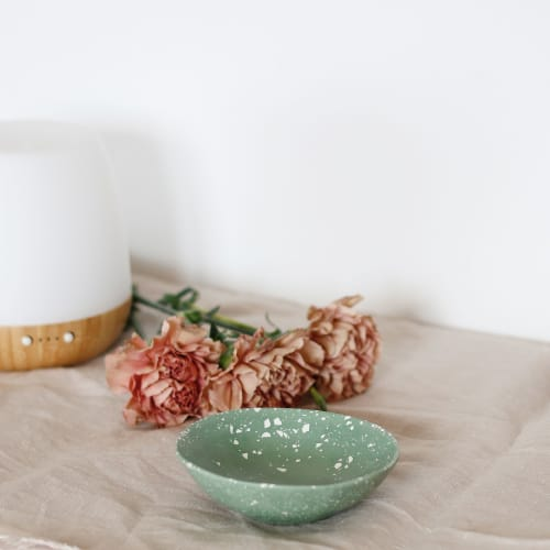 Ceramic Plates by Tarareo · Flo Corretti seen at Private Residence, Lleida - Little terrazzo bowl