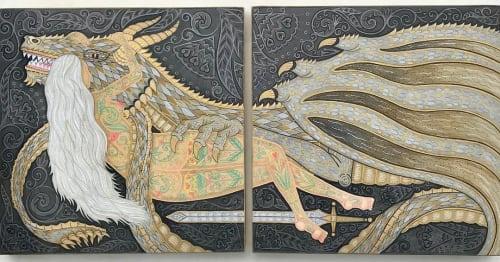 Evan B. Harris - Murals and Art