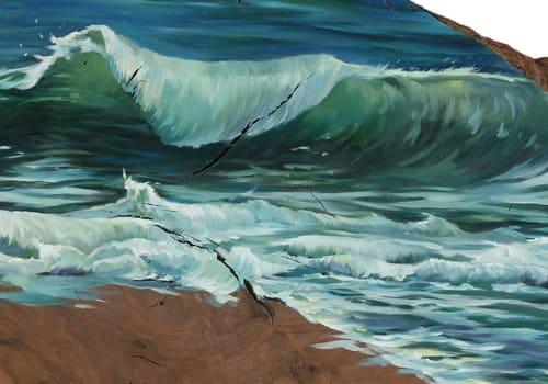 Paintings by Lindsey Millikan (Milli) - Ocean #4