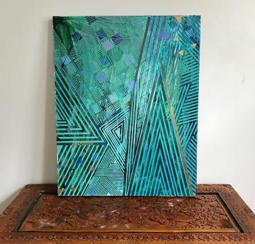 Paintings by Rae Heller seen at Private Residence, Boston - Rye