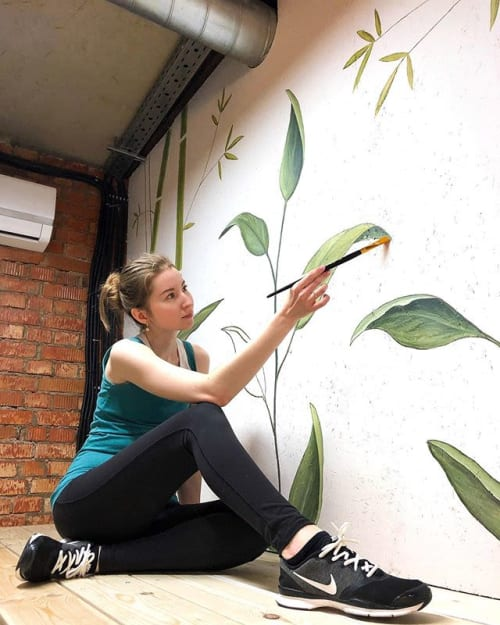 Interior Design by Daria.Kreskina seen at Moscow, Moscow - Jungle street fitness