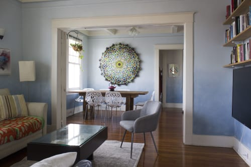 Art Curation by Connor McManus seen at Private Residence, New Orleans - Oro Mandala