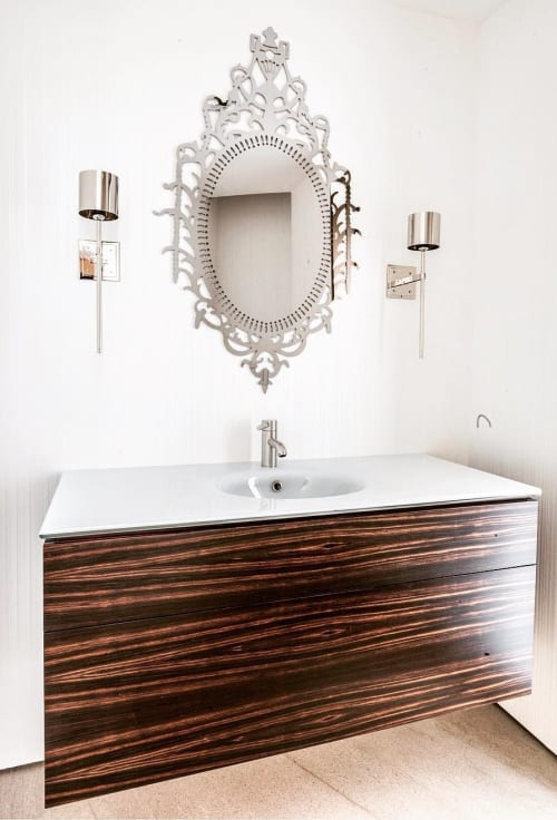 Furniture by Rohan Ward at Private Residence, Winnetka - Floating Vanity