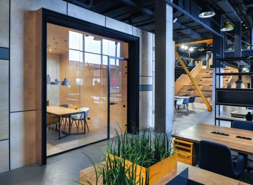 Interior Design by DA bureau seen at Workki Neo Geo, Moskva - Workki Neo Geo