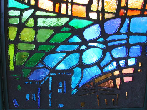 Art & Wall Decor by Willet Hauser Architectural Glass seen at 225th Street, Bronx - Stained Glass