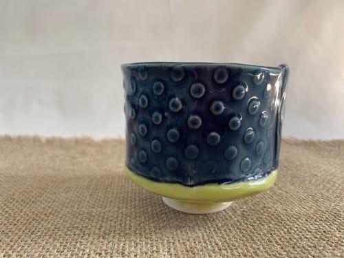 Tableware by Linda Peterson | Mud 'n Biscuits Ceramics seen at Creator's Studio, Scotch Plains - Salt Cellar