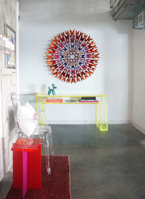 Sculptures by Gabriela Noelle seen at Private Residence, Miami - Early Amber