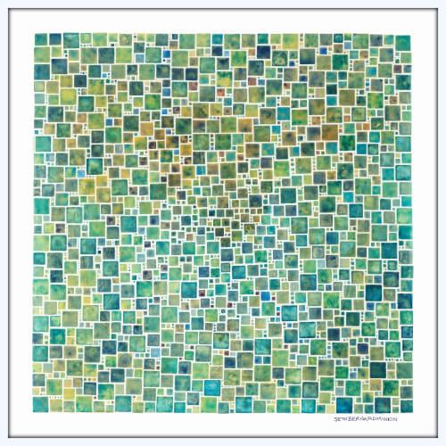 Art & Wall Decor by Seth B Minkin Fine Art at Seth B Minkin Studio + Showroom, Boston - White Squares Square | Limited Edition Print | Multiple Sizes Available