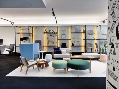 Interior Design by Cusp Design Studio seen at Perth, Perth - Schiavello Showroom