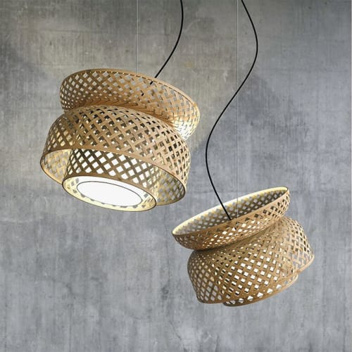 Pendants by Mianzi seen at Private Residence, New Delhi - Lotus Pendant Lamp