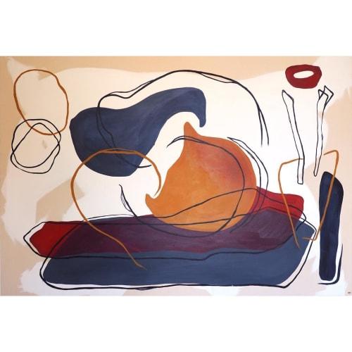 Paintings by Kara Mandel seen at Private Residence, Sydney - Painting